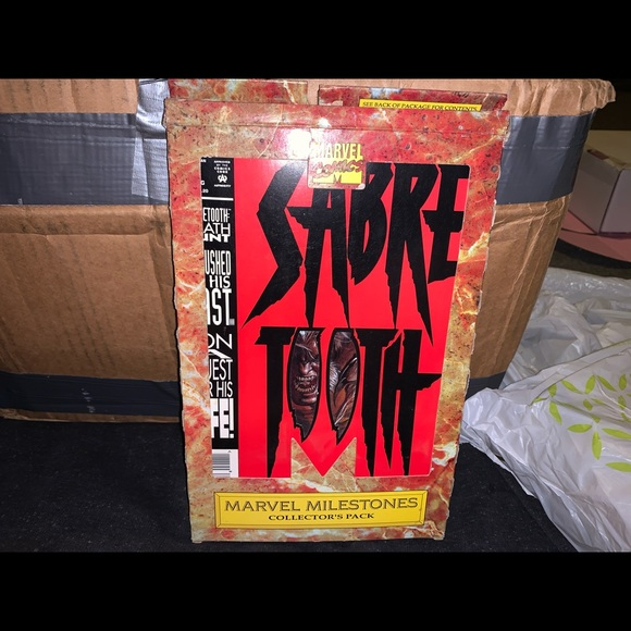 Sabre Tooth comic books 1-4 in a box set
